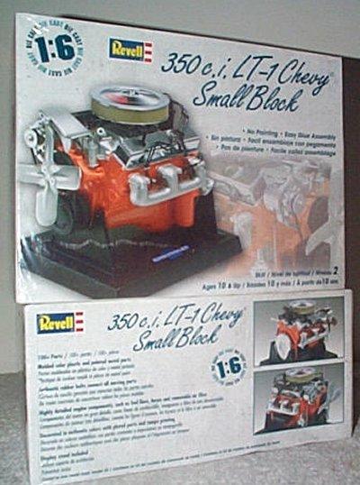 Chevrolet 350Cu. In. LT-1 V-8 Model Kit