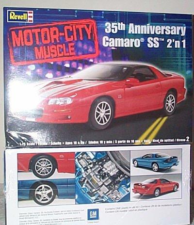 '02 Camaro SS 35th Anniversary Model Kit