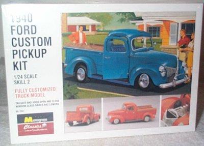 '40 Ford Custom Pickup Truck Model