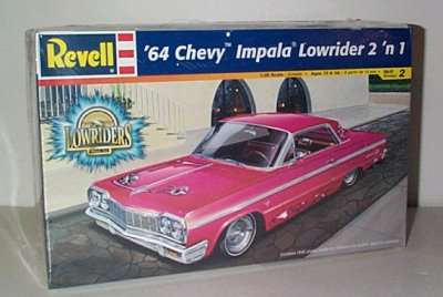 '64 Chevrolet Impala Lowrider Model Kit