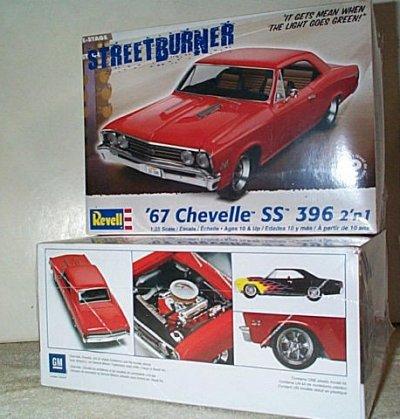 '67 Chevy Chevelle SS 396 2'n 1 Model Kit