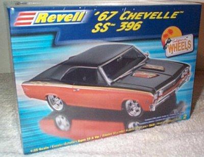 '67 Chevy Chevelle SS396 Model Kit