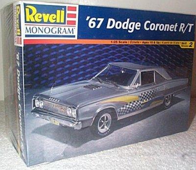 '67 Dodge Coronet R/T Model Kit