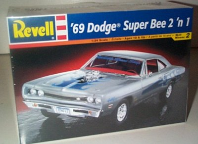 '69 Dodge Super Bee 2'n 1 Model Kit