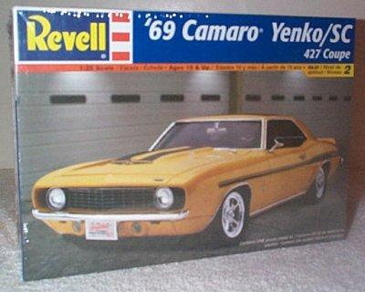 '69 Chevy Yenko Camaro Model Kit