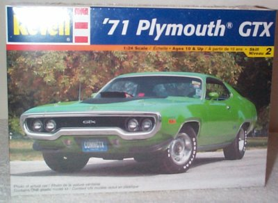 '71 Plymouth GTX 440 6-Pack Model Kit