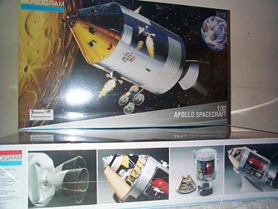 Apollo Spacecraft Model Kit