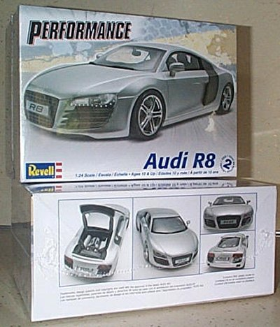 Audi R8 Plastic Model Kit