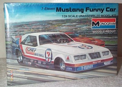 Billy Meyer Ford Mustang Funny Car