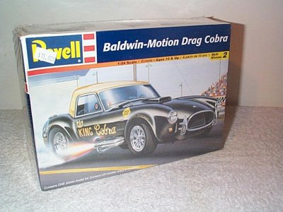 Baldwin-Motion Drag Cobra Model Kit