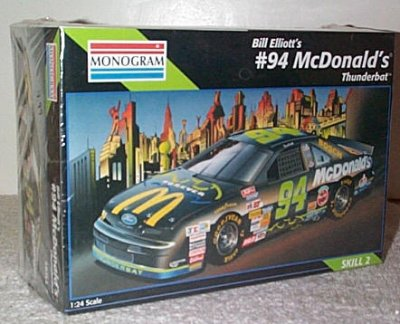 Bill Elliott McDonald's Thunderbat