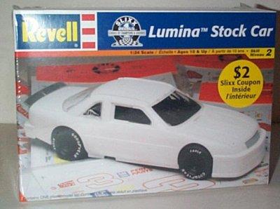 Blank Chevy Lumina Stock Car