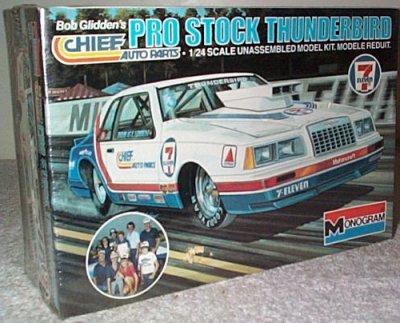 Bob Glidden 7-Eleven 1984 Thunderbird Pro Stock