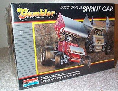 Bobby Davis Jr. Sprint Car Model Kit