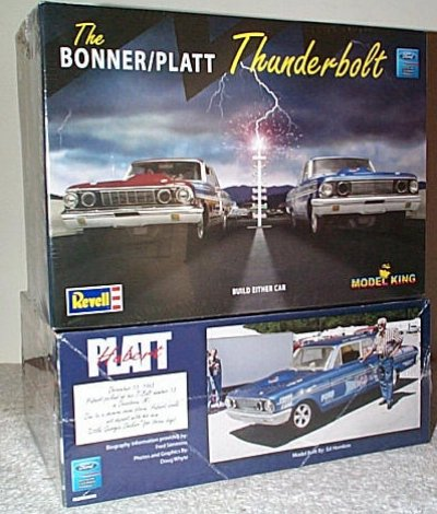 Bonner/Platt Ford Thunderbolt Model Kit