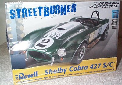 Shelby Cobra Street Burner Model Kit