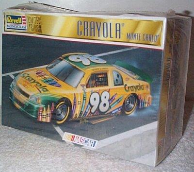 Crayola '98 Monte Carlo Model Kit