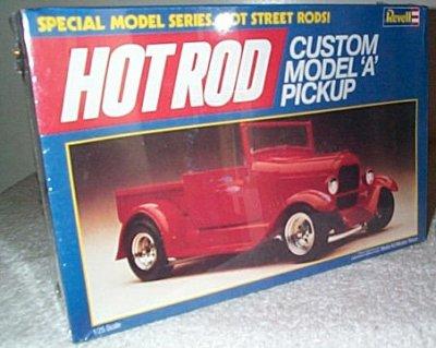 Custom Ford Model A Pickup Model Kit