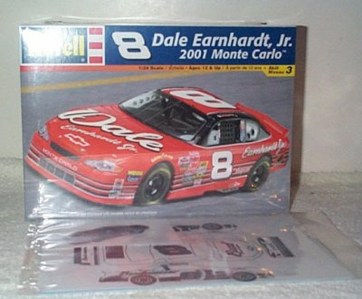 Dale Earnhardt Jr '01 Model Kit w/Bud Decals