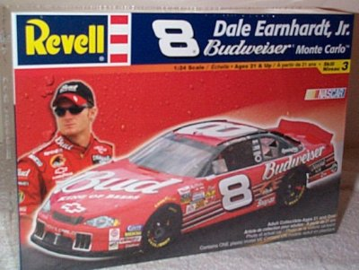 Dale Earnhardt Jr Budweiser '02 Model Kit