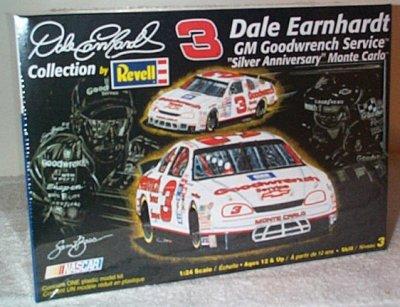 Dale Earnhardt Silver Anniversary 1995 Model Kit