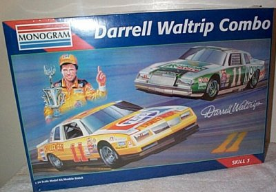 Darrell Waltrip Pepsi-Mountian Dew Combo Model Kit
