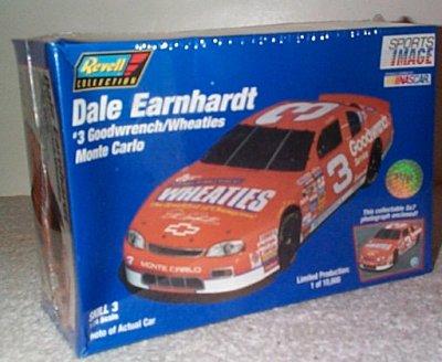 Dale Earnhardt Wheaties Monte Carlo