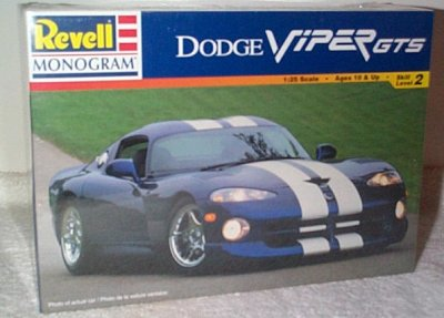 Dodge Viper GTS Coupe Model Kit