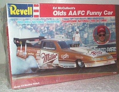 Ed McCulloch Miller High Life Funny Car