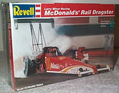 Ed McCulloch McDonald's Top Fuel Dragster