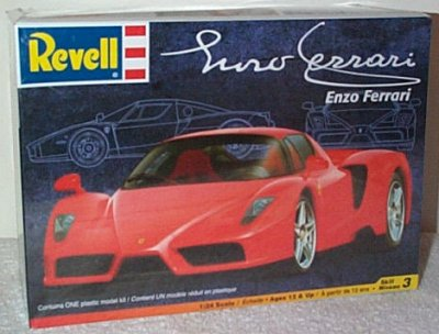 Ferrari's Enzo Ferrari Plastic Model Kit