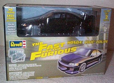 Fast & Furious Honda Civic Coupe Model Kit