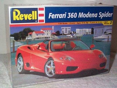 Ferrari 360 Modena Spider Model Kit