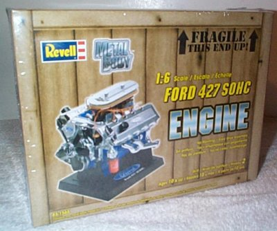 Ford 427Cu. In.SOHC V-8 Model Kit