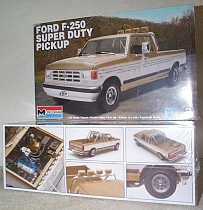 Ford F-250 Super Duty Model Kit