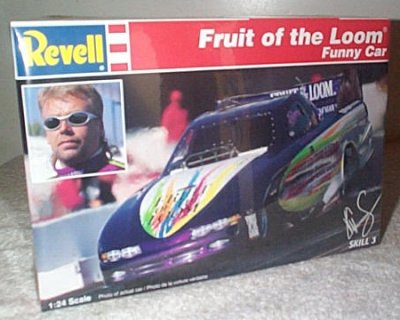 K. C. Spurlock Fruit Of The Loom Funny Car
