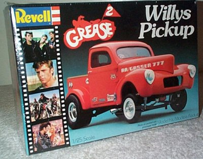 Grease 2 Willys Pickup Truck Model Kit