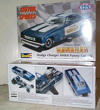 Hawaiian Dodge Charger Funny Car