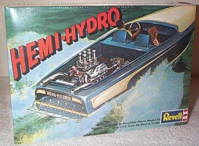 Hemi-Hydro Ski Boat & Trailer