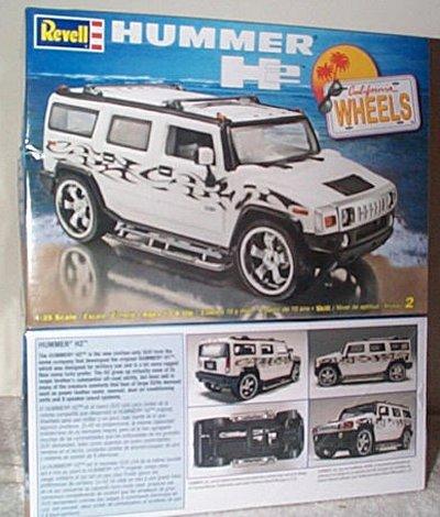 Hummer H2 California Wheels Model Kit