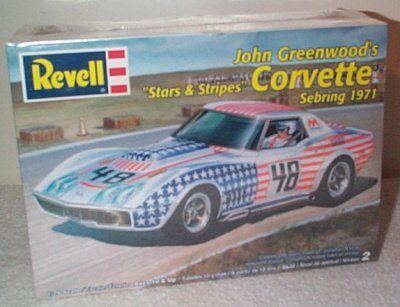 John Greenwood Stars & Stripes Corvette Model Kit