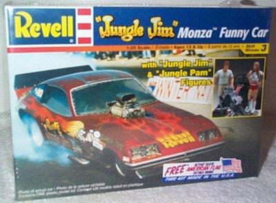 Jungle Jim Liberman Monza Funny Car w/Figures Mode