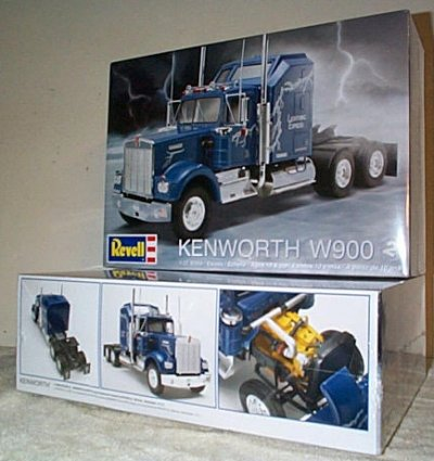 Kenworth W900 Cab & Chassis Model Kit
