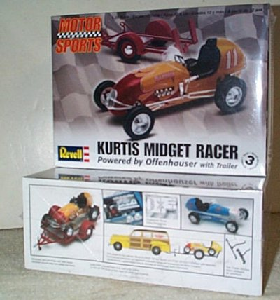Kurtis Kraft Midget Racer Offy Powered