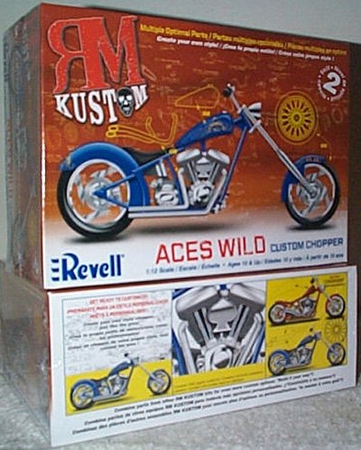 Kustom Chopper Aces High Model Kit