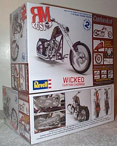 Kustom Chopper Wicked Model Kit