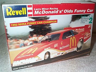 Larry Minor McDonald's Olds Champ Funny Car