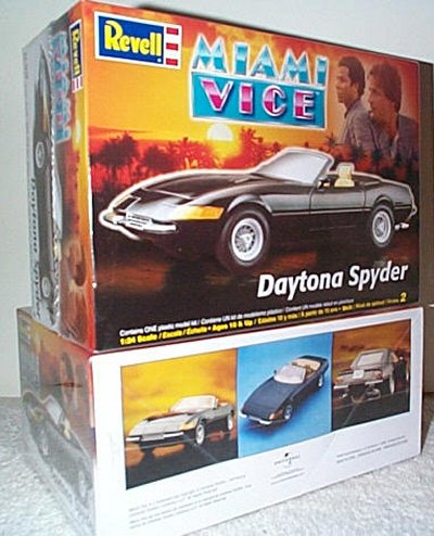 Miami Vice Dodge Daytona Spyder Model