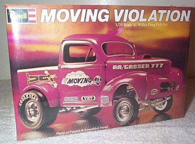 '41 Willys Drag Pickup Moving Violation