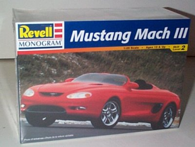 Ford Mustang Mach III Concept Car Model Kit